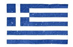 Greek flag Stock Photos