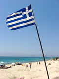 Greek Flag Royalty Free Stock Photo
