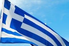 Greek flag Stock Images