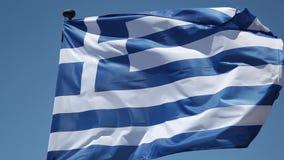 Greek Flag stock video