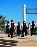 Greek folklore dance Royalty Free Stock Photos