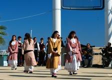 Greek folklore dance Royalty Free Stock Image