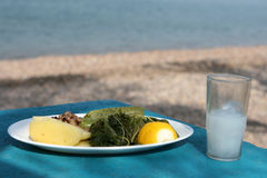 Greek food Royalty Free Stock Photography