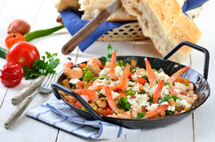 Greek food Stock Image
