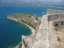 Greek fortress Royalty Free Stock Photos