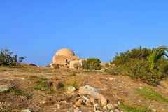 Greek fortress Mosque Royalty Free Stock Photos