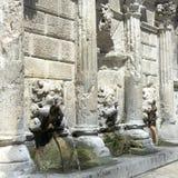 Greek fountain Stock Image