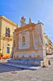 Greek fountain. Gallipoli. Puglia. Italy. Stock Photography