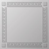 Greek frame Royalty Free Stock Photo