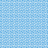 Greek fret meander seamless pattern Royalty Free Stock Photos