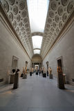 Greek Gallery in Metropolitan Museum of Art Stock Photos