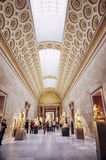 Greek Gallery in Metropolitan Museum of Art Stock Photography