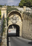 Greek gate in Mdina  Malta Royalty Free Stock Photography