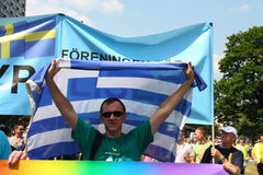 Greek gay Stock Images