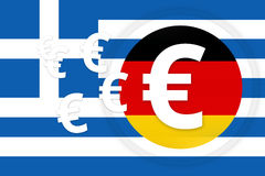 Greek germany Royalty Free Stock Image