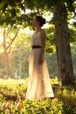Greek girl Royalty Free Stock Photo