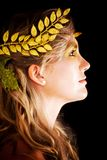 Greek goddess Stock Photography