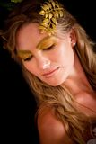 Greek goddess Stock Image