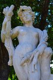 Italian Renaissance female statue. Royalty Free Stock Image