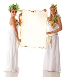 Greek goddesses Stock Images