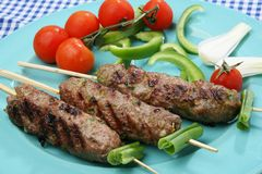 Greek grilled Stock Photography