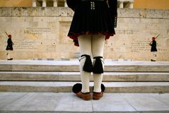 Greek Guards Stock Images