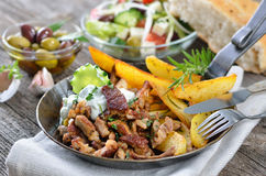 Greek gyros Royalty Free Stock Photo