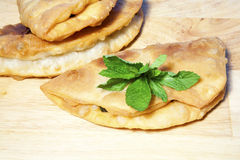 Greek Hand Pie Stock Photo