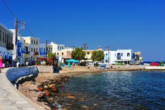 Greek harbor Royalty Free Stock Image