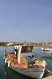 Greek harbor stock images