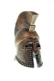 Greek helmet. Royalty Free Stock Photos