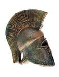 Greek helmet. Royalty Free Stock Photography