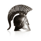 Greek helmet Stock Images