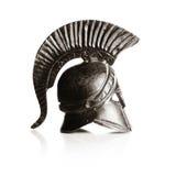 Greek helmet Stock Images