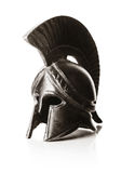 Greek helmet Royalty Free Stock Photo