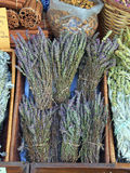 Greek Herbal Tea. Athens central market precinct Stock Photo