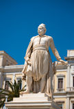 Greek hero, Andreas Miaoulis Royalty Free Stock Photography