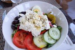 Greek Horiatiki Salad Stock Images