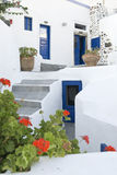 Greek House Stock Photography