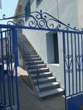 Greek house Stock Photos