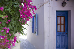 Greek house Stock Photos