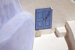 Greek house Stock Image