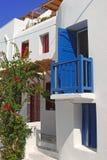 Greek house Royalty Free Stock Photo