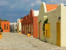 Greek houses Stock Photography