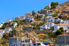 Free Greek Houses Royalty Free Stock Photo - 45785915