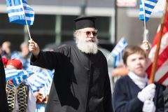Greek Independence Day Parade 2018 stock images