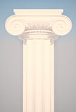 Greek Ionic Column. Stock Photos