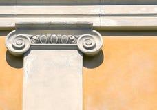 Greek Ionic Column Stock Photography