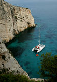 Greek island. The view from Zakynthos island Royalty Free Stock Photography