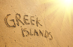 Greek island Stock Image